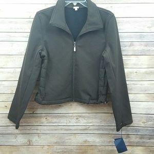 Fjallraven Brown Full Zip Jacket Sz M